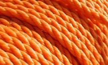 Oranje touw