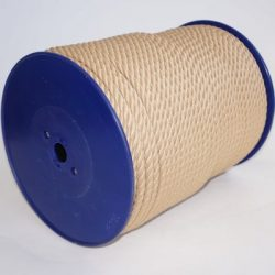 Polyester 3-strengs beige