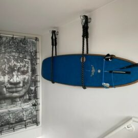 Ophangsysteem voor surfboard